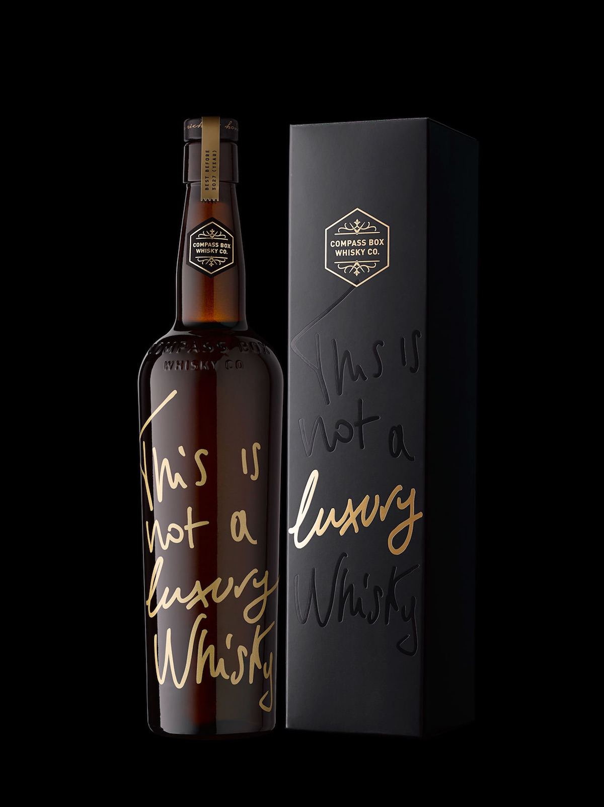 luxury whisky packaging
