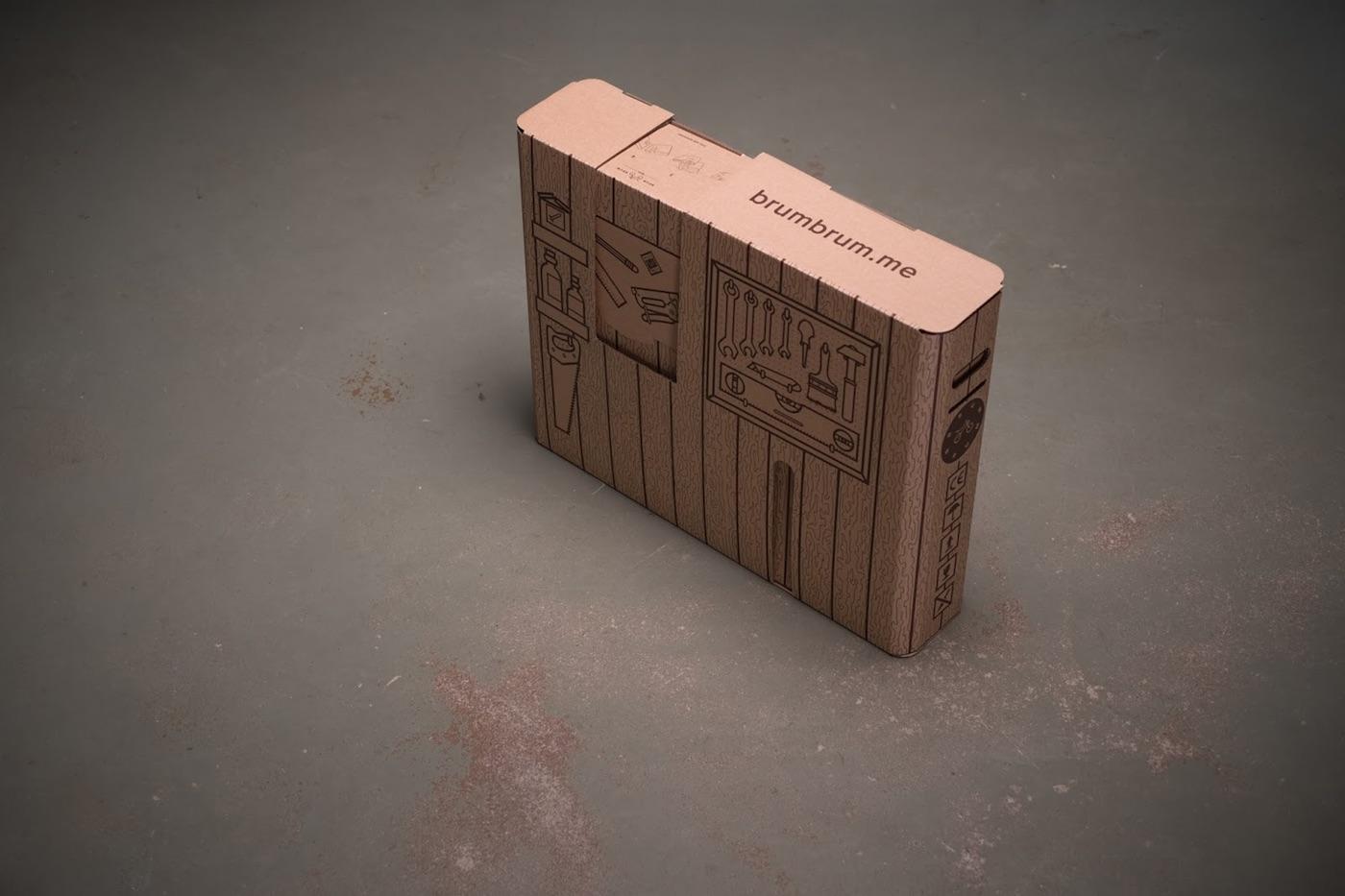 brum box packaging