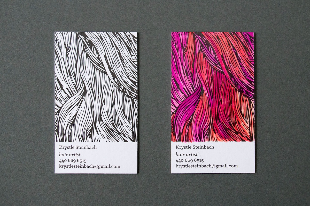 color it yourself business card - PaperSpecs