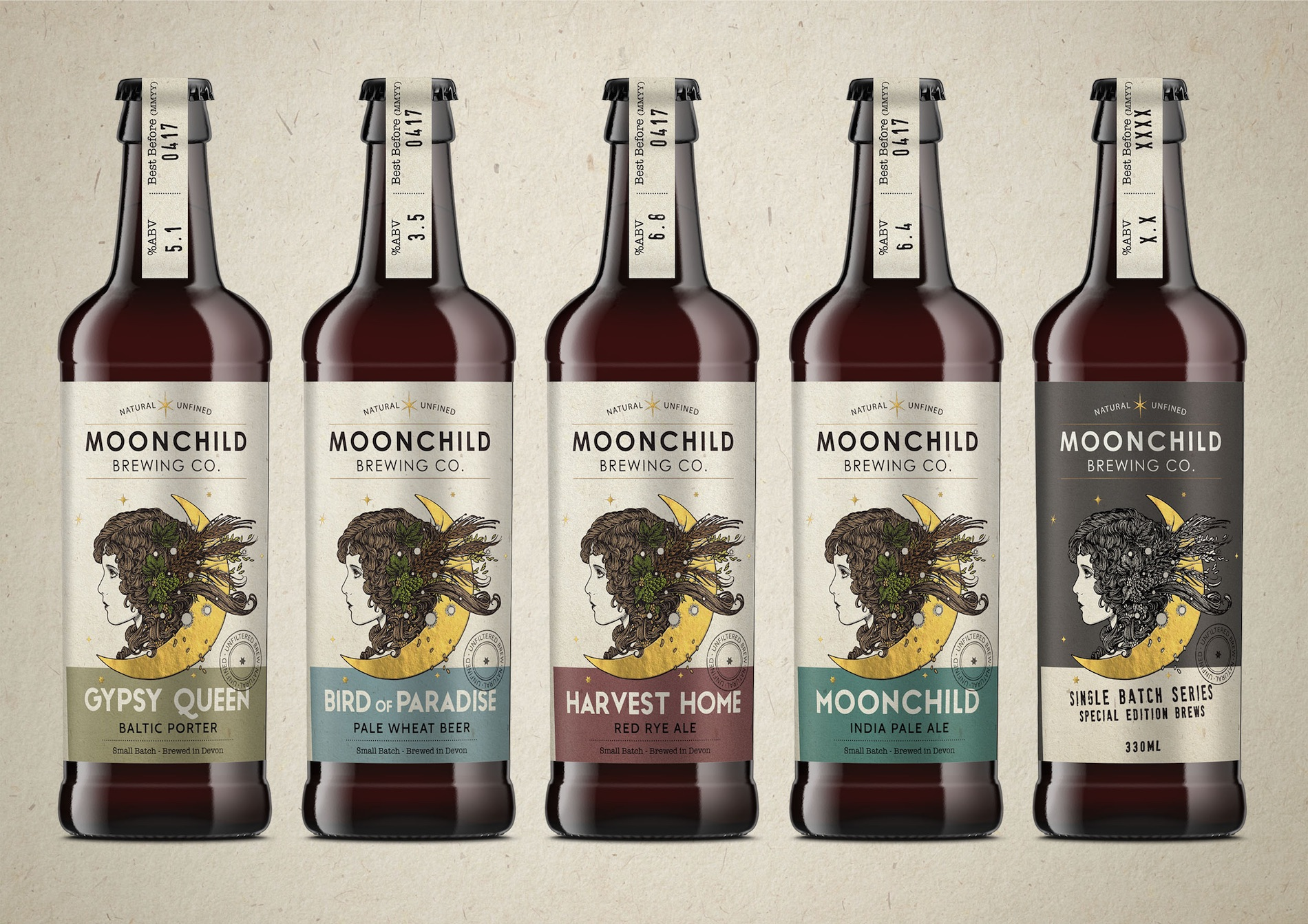 moonchild brewing label