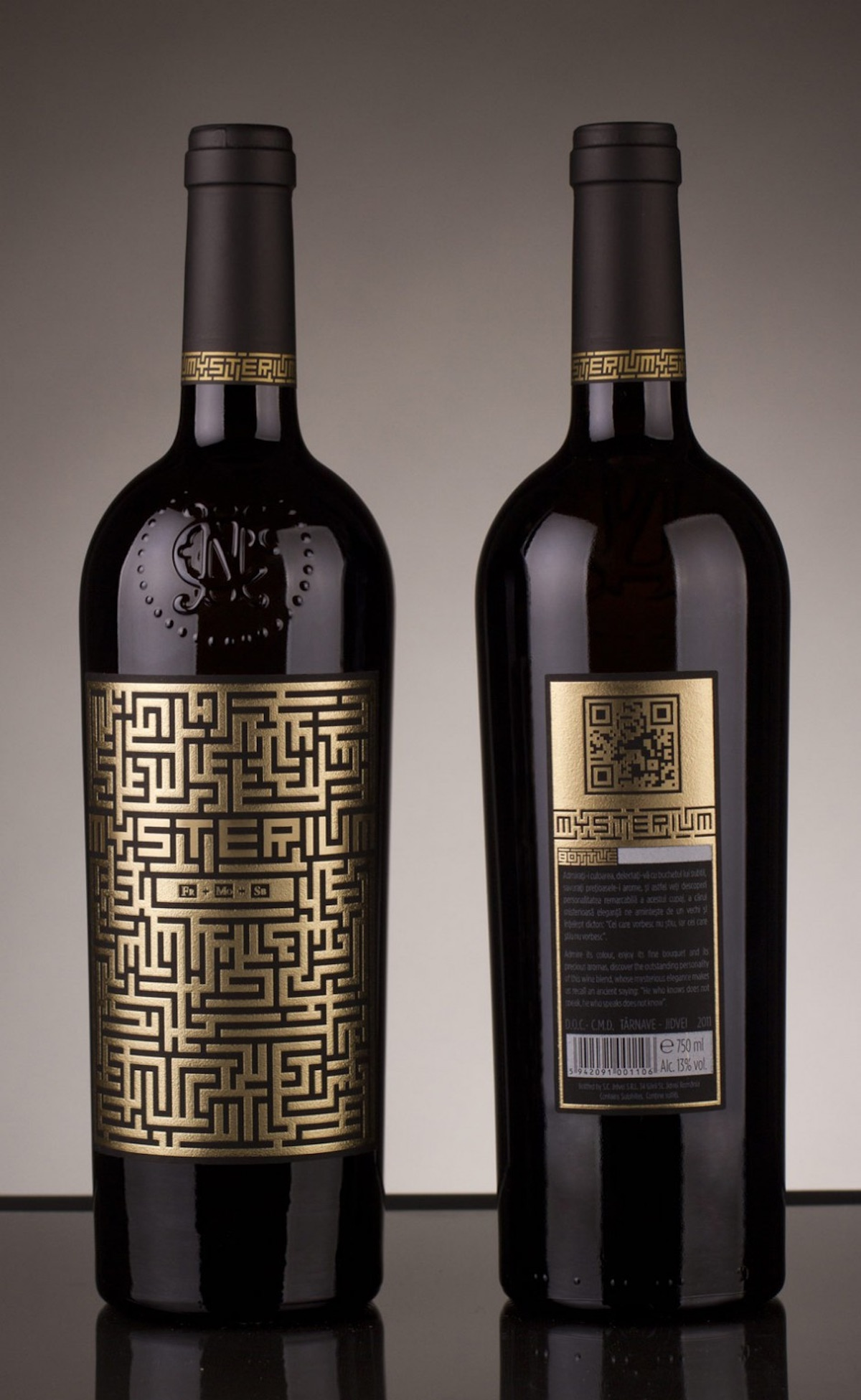 cool packaging mysterium wine label paperspecs