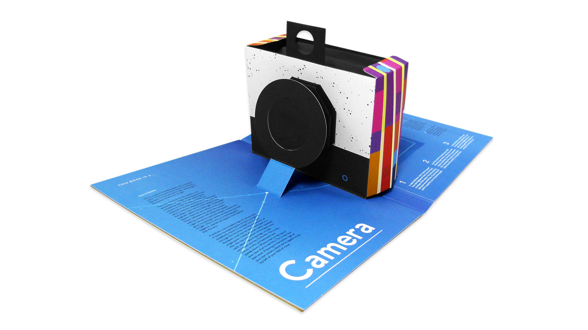 'This Book is a Camera' Pop-up Book - PaperSpecs