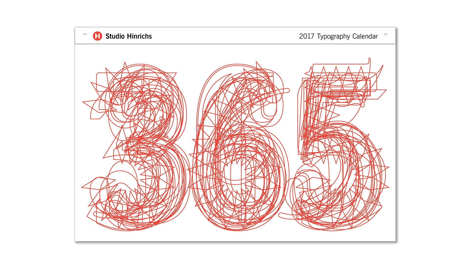 Calendar For Typography Nerds : Typography calendar