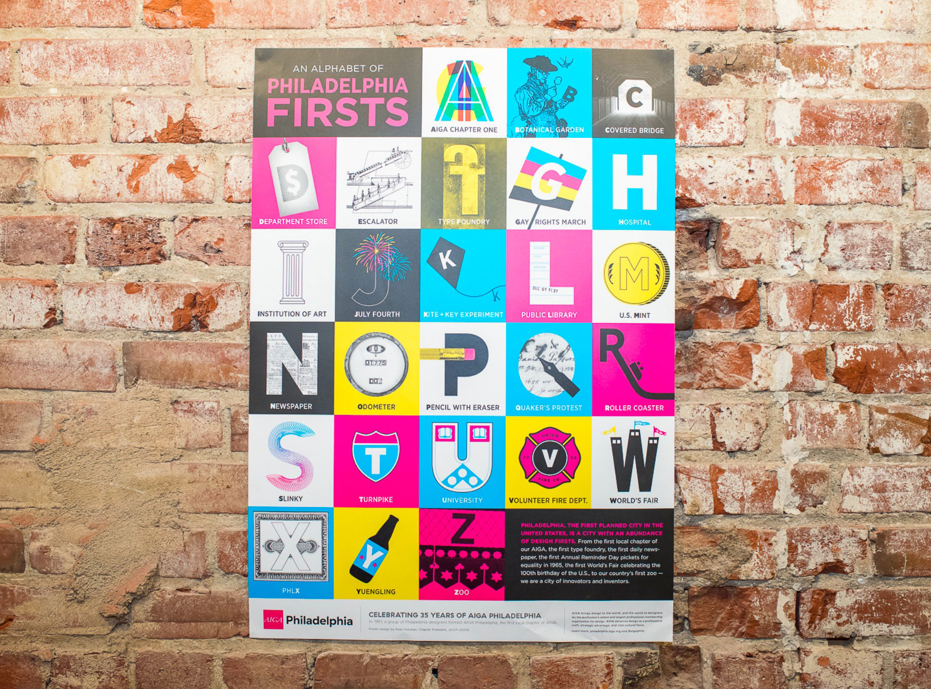 hp indigo gives aiga philadelphia liberty to celebrate 35 years