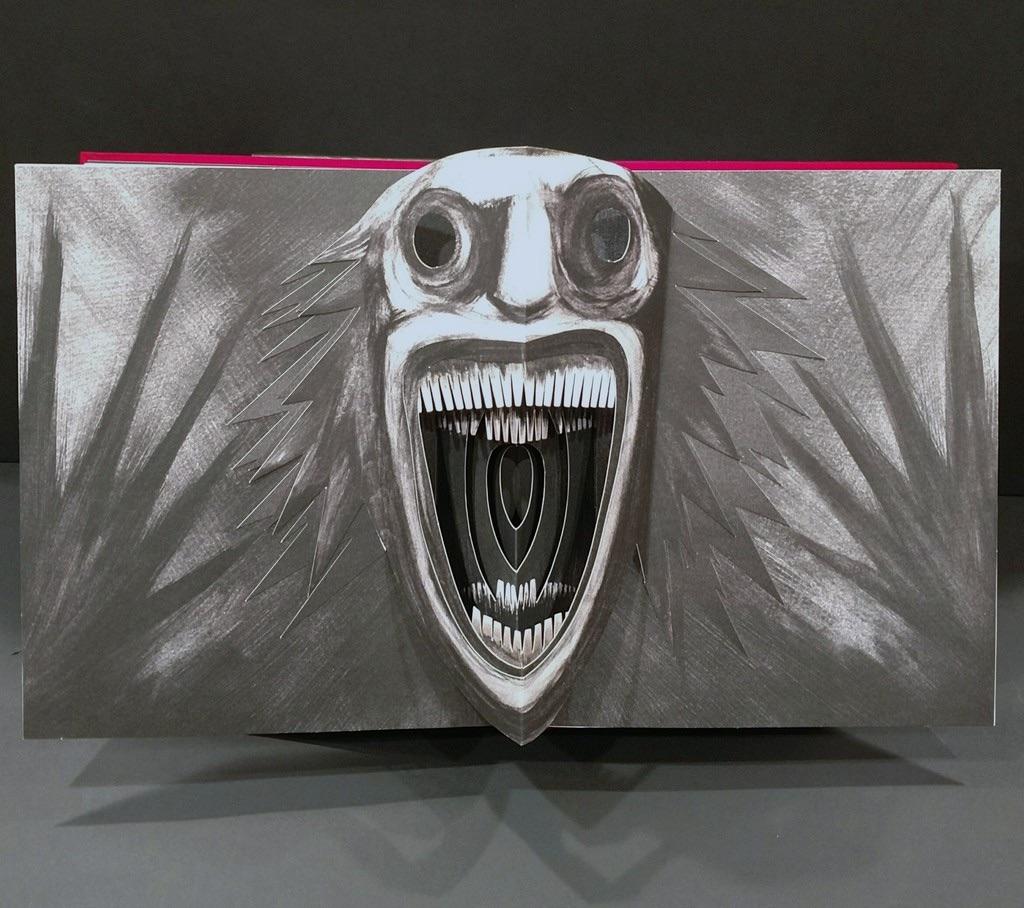 Babadook' Pop-up Book - PaperSpecs (Via Michael-Myers.net)