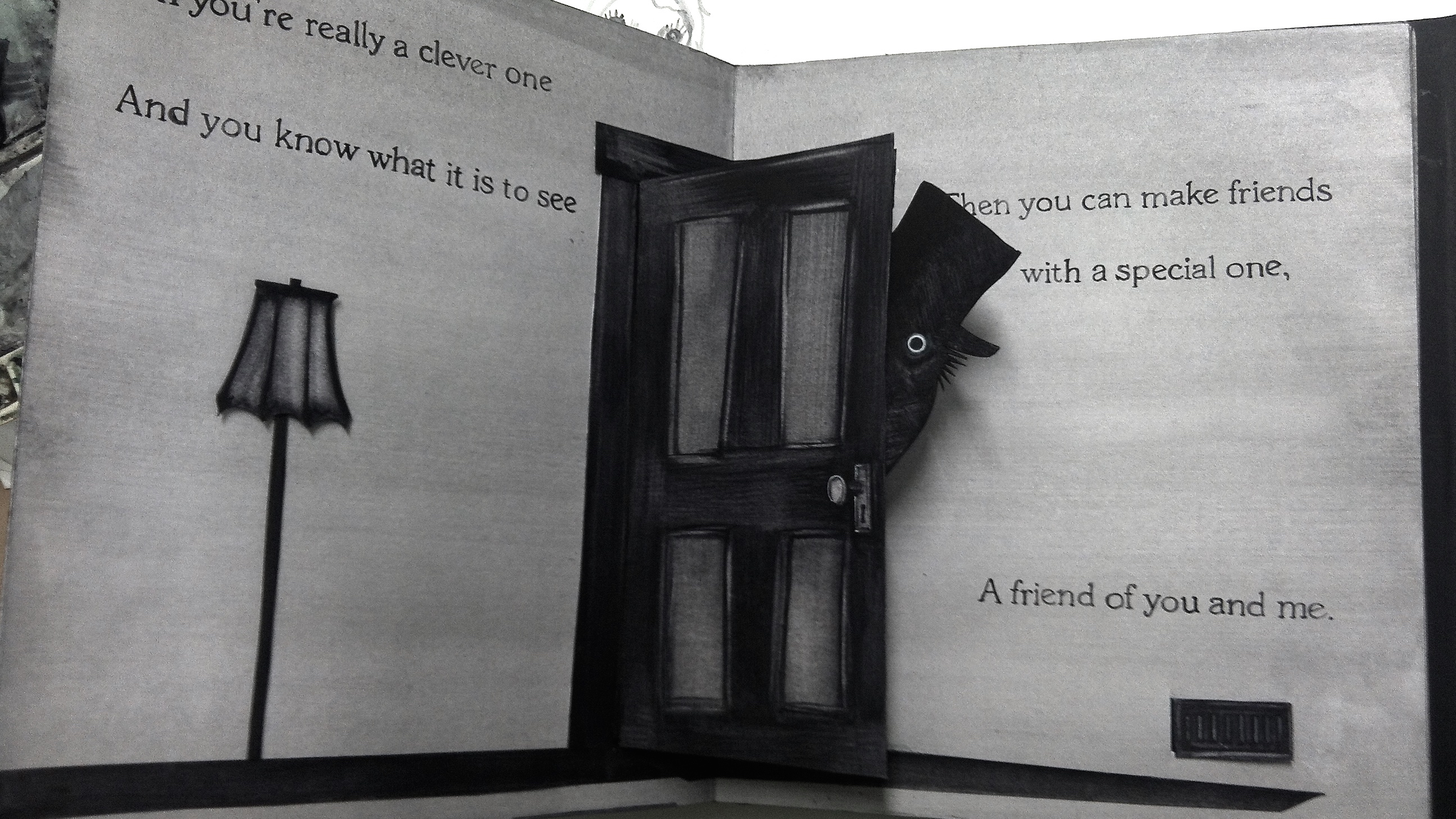 'The Babadook' Pop-up Book - PaperSpecs