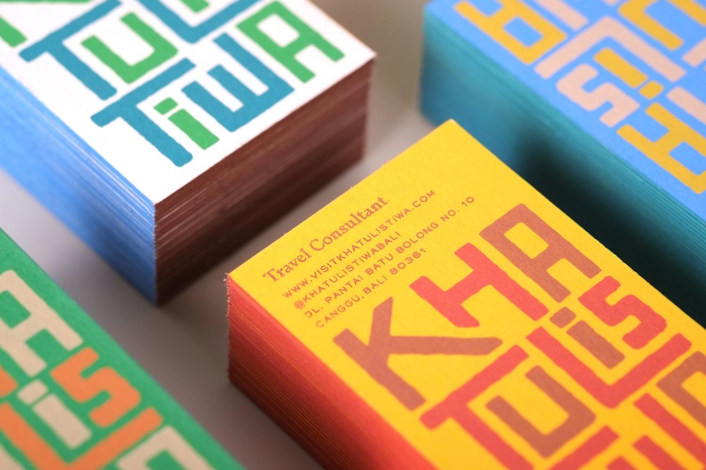 Khatulistiwa Business Cards - PaperSpecs