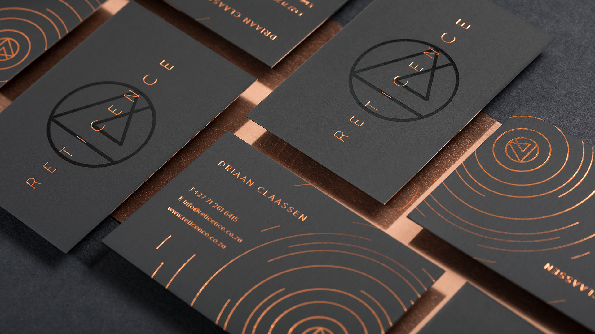 Reticence Stationery - PaperSpecs