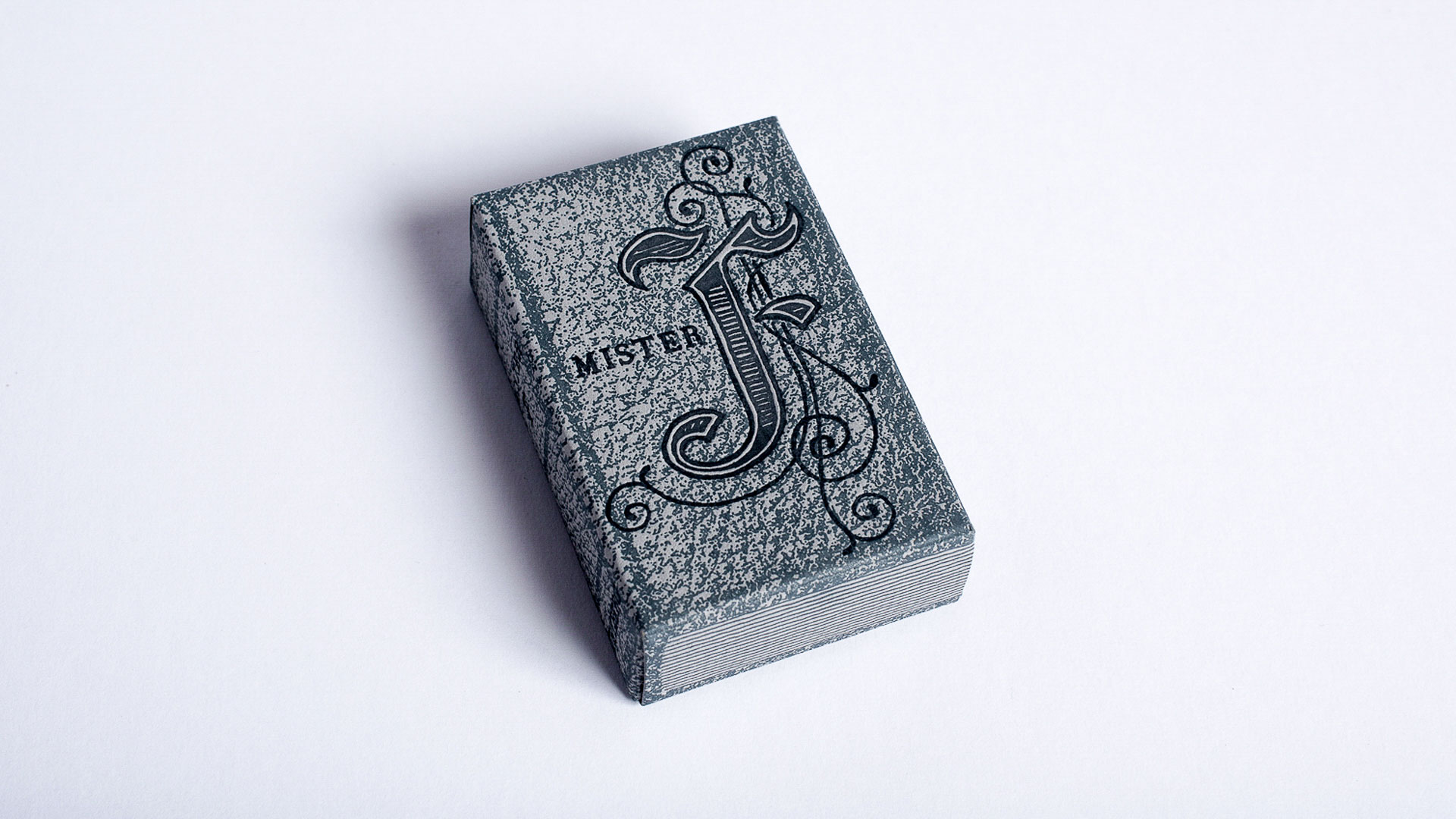 Scary 'Mister F' Letterpress Book - PaperSpecs