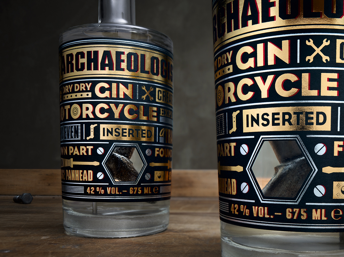 The Archaeologist Gin Packaging - PaperSpecs