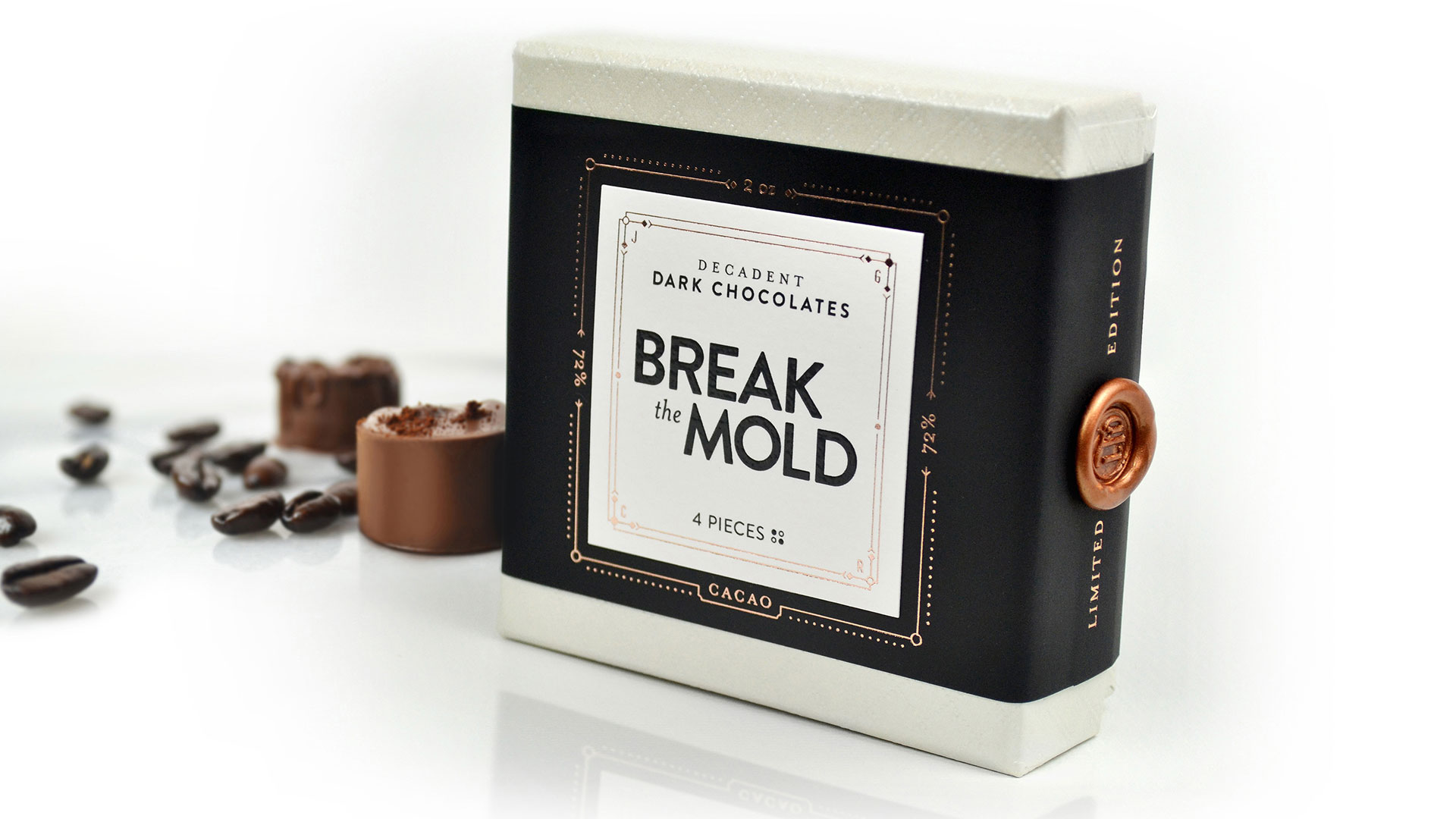 Break the Mold Packaging by Jess Glebe Design - PaperSpecs