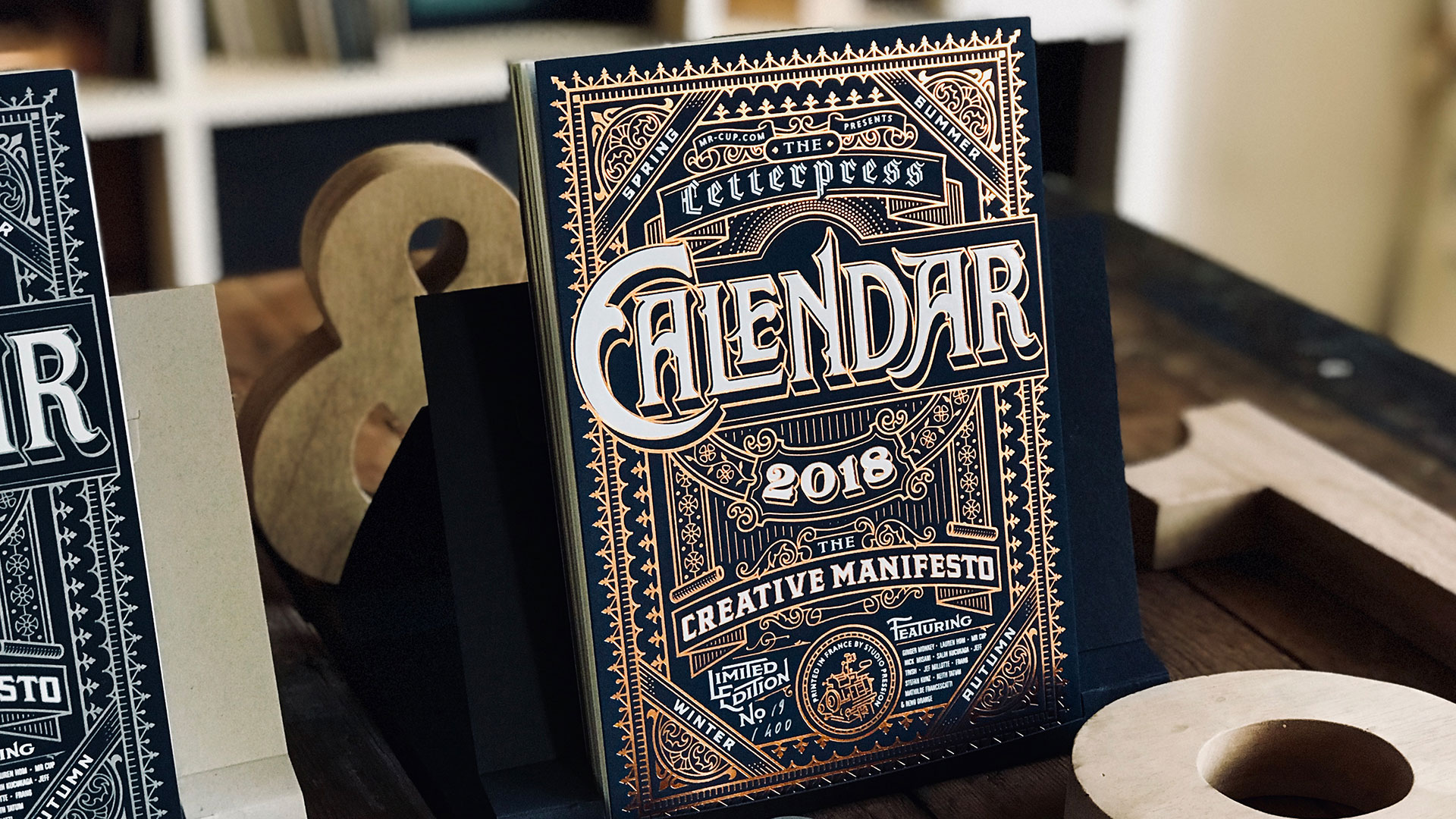 Creative Manifesto calendar - PaperSpecs