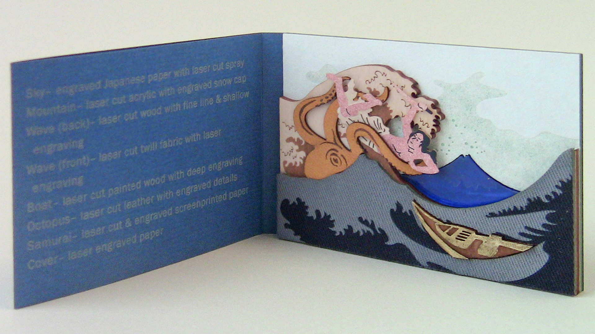 'The Great Wave' Sample Book - PaperSpecs