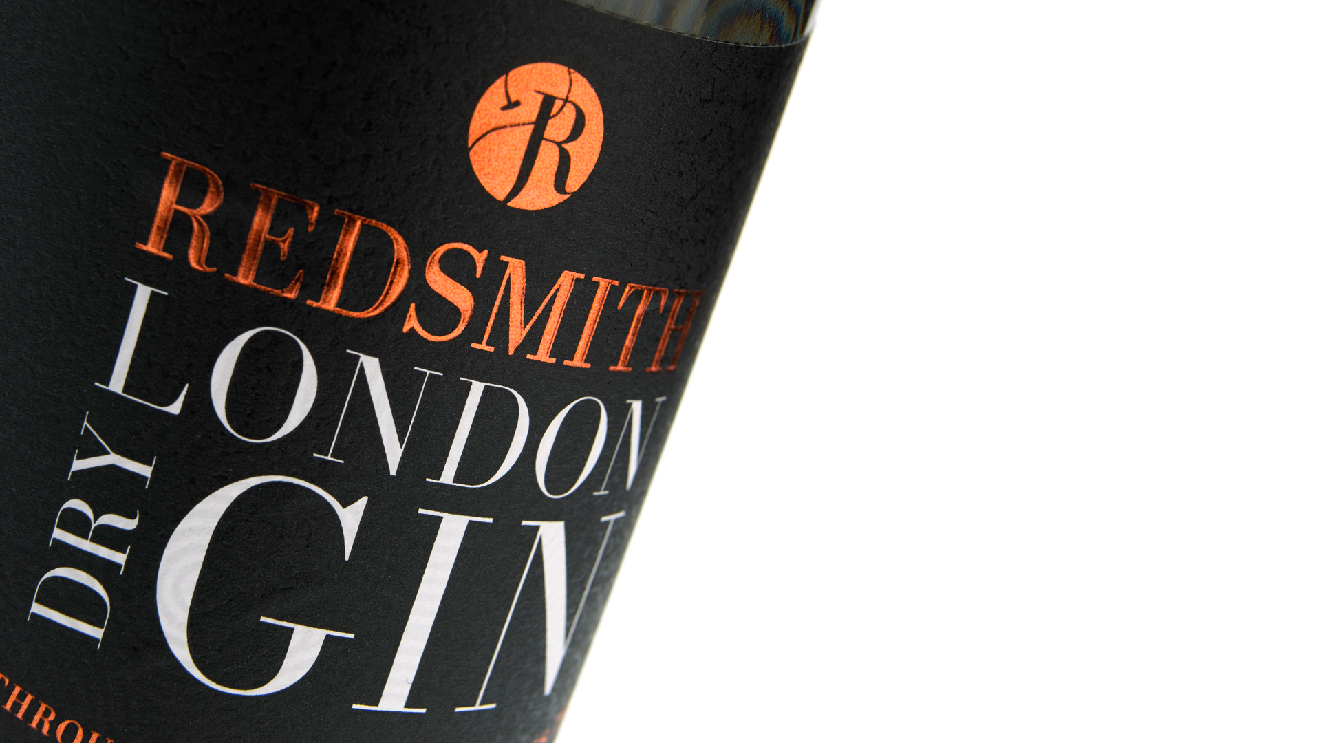 Redsmith London Dry Gin Label - PaperSpecs