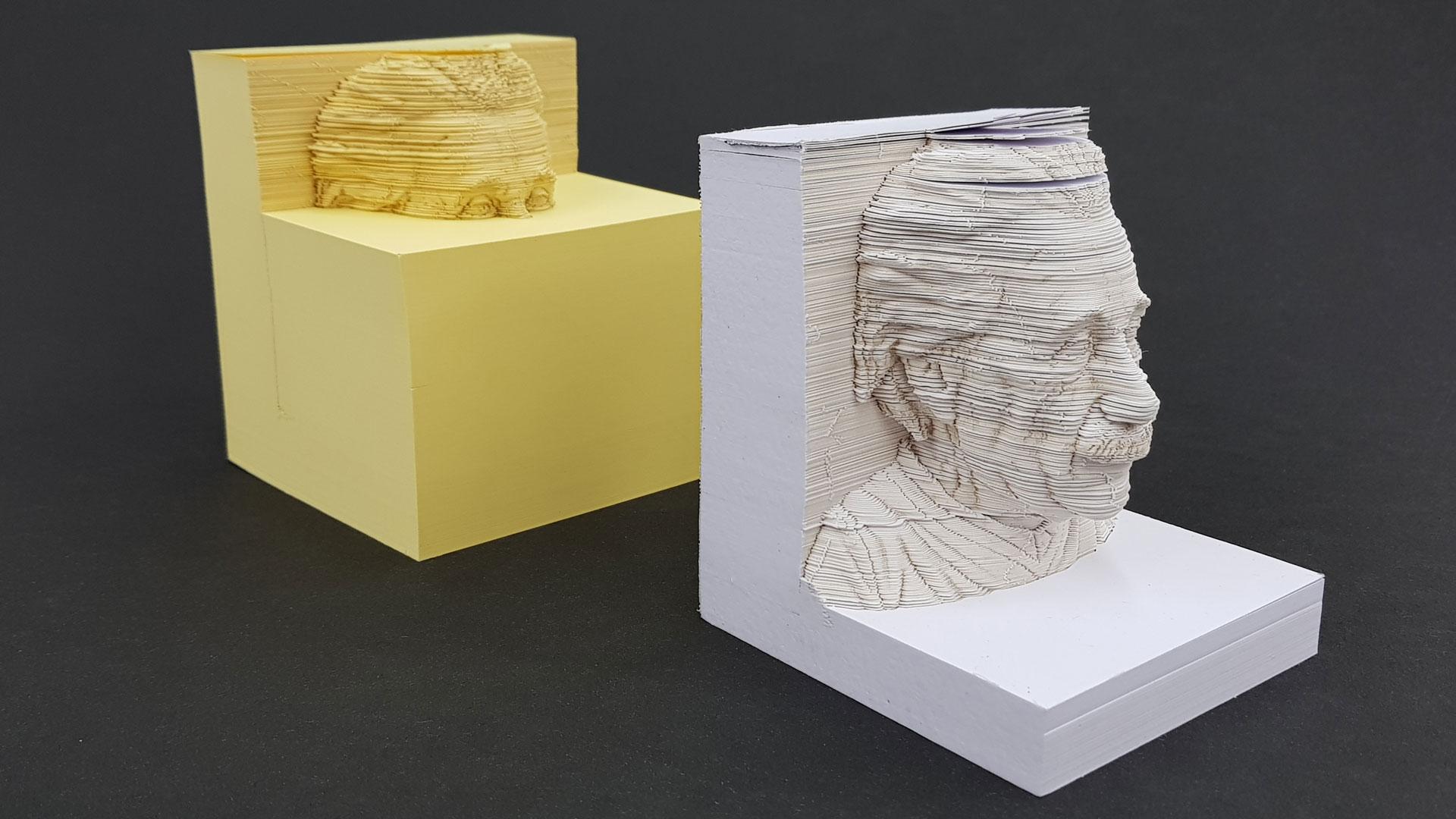 3D Einstein Memo Pad - PaperSpecs