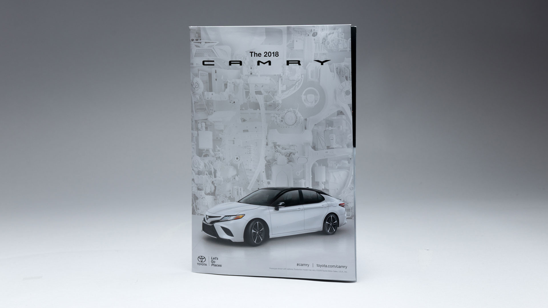 Toyota Camry Pop-Up Gatefold Insert - PaperSpecs
