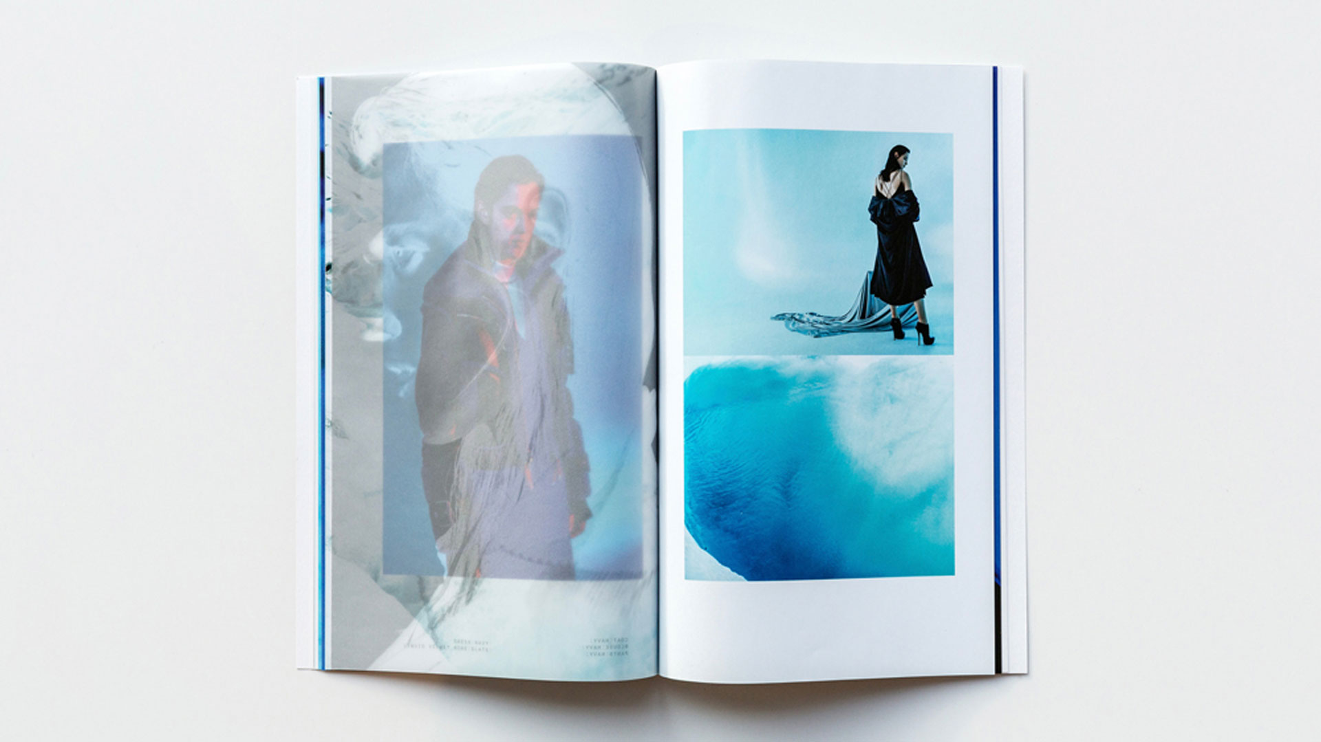"""ICB """"ICE"""" Fall/Winter Look Book - PaperSpecs"""