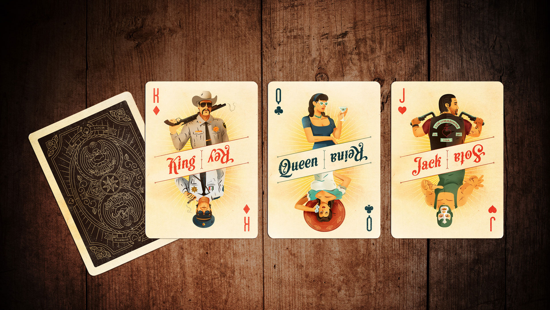'Borderline' Playing Cards - PaperSpecs