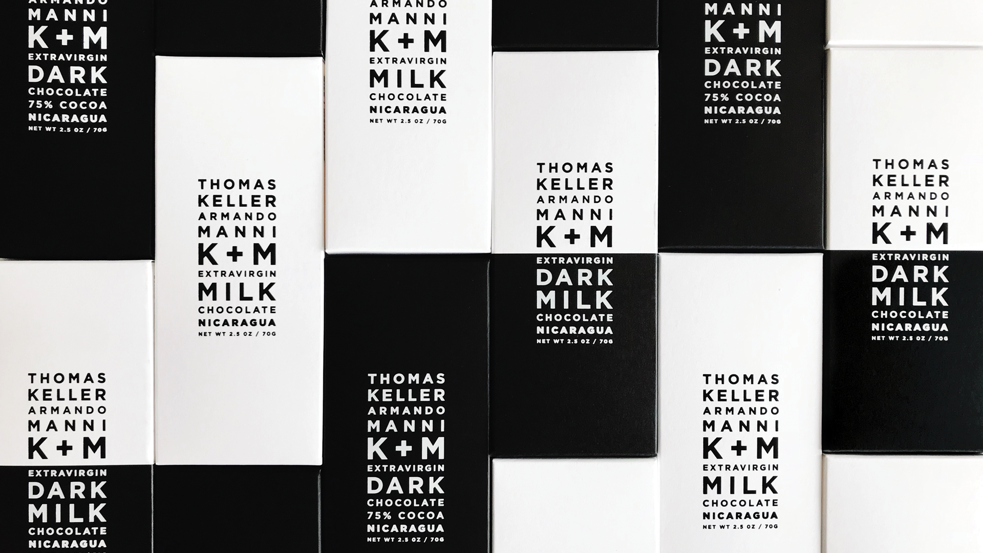 K+M Chocolate Packaging by Morla Design - PaperSpecs