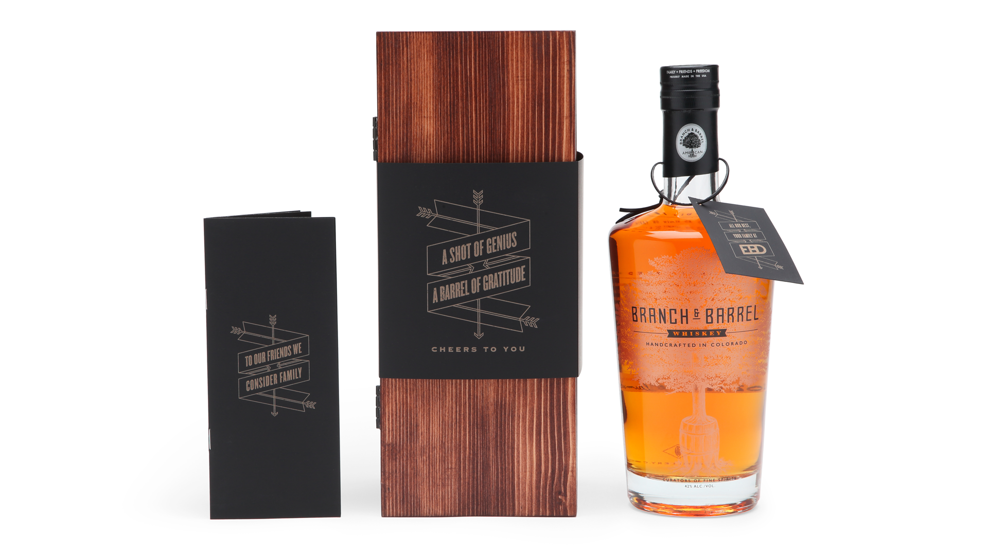 EBD Whiskey Gift Box - PaperSpecs