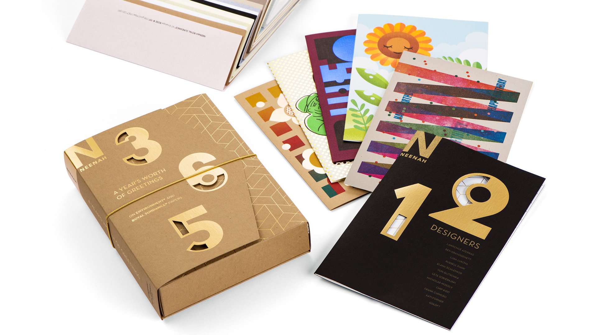 'A Year's Worth of Greetings' Card Set