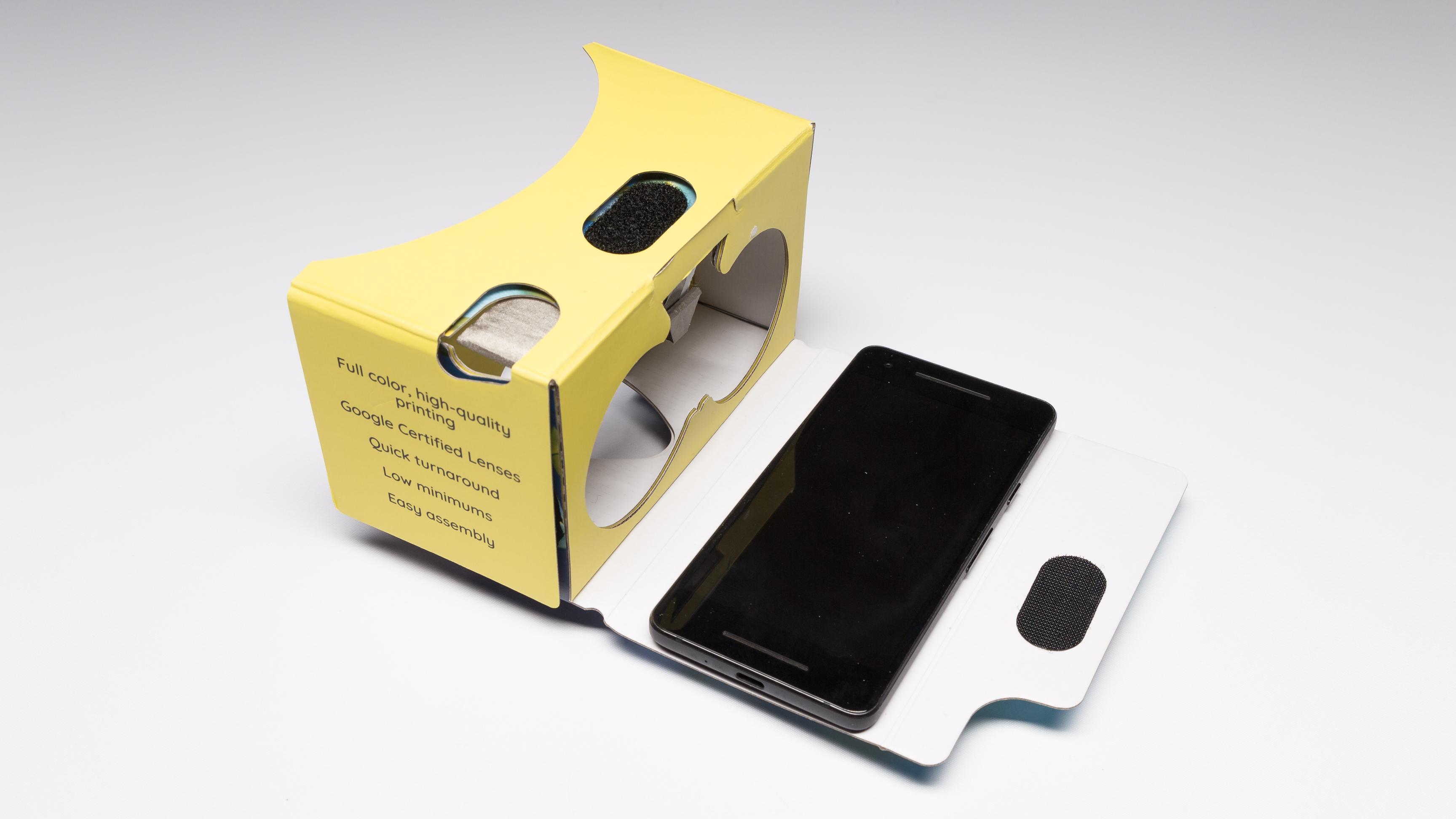 SleekPeeks Cardboard Virtual Reality Viewer