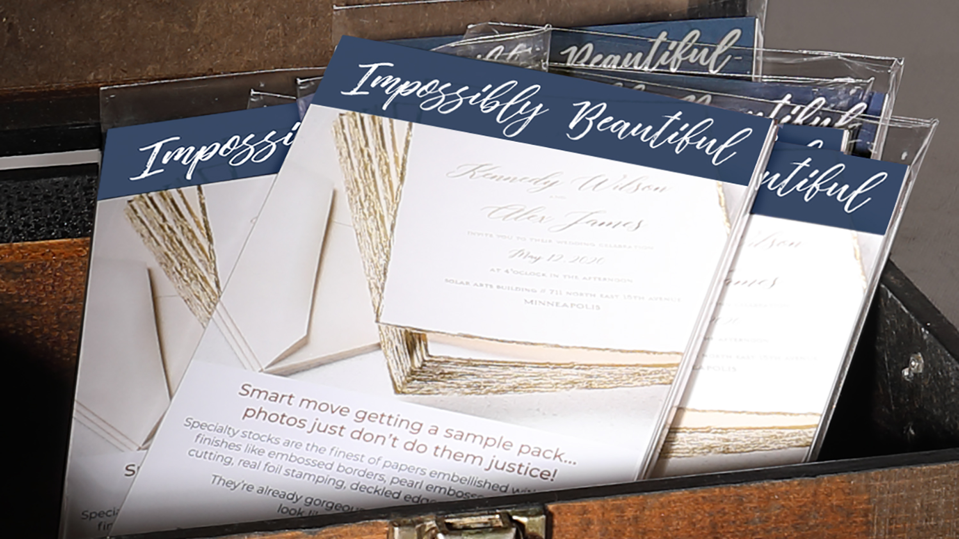 TOG.ink specialty paper stocks from The Occasions Group - Sample packs