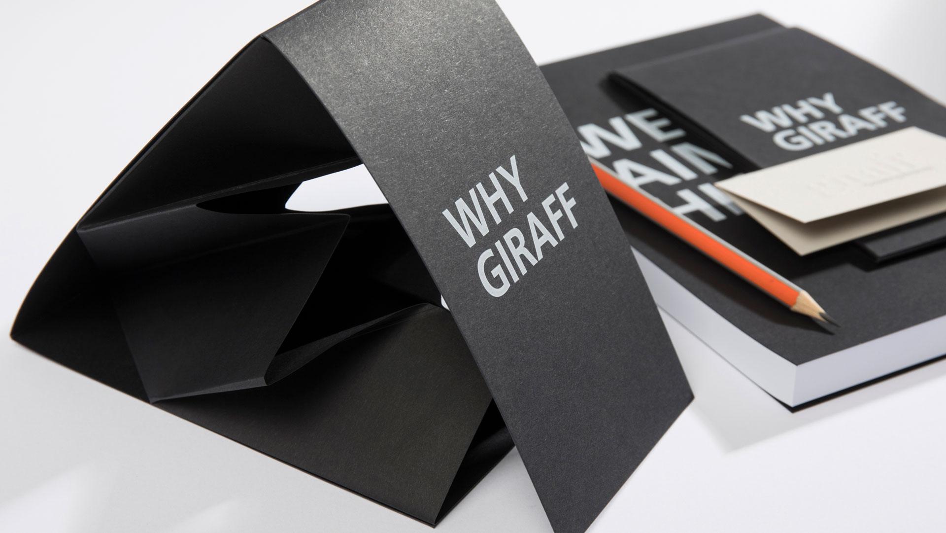 Giraff unfolding card
