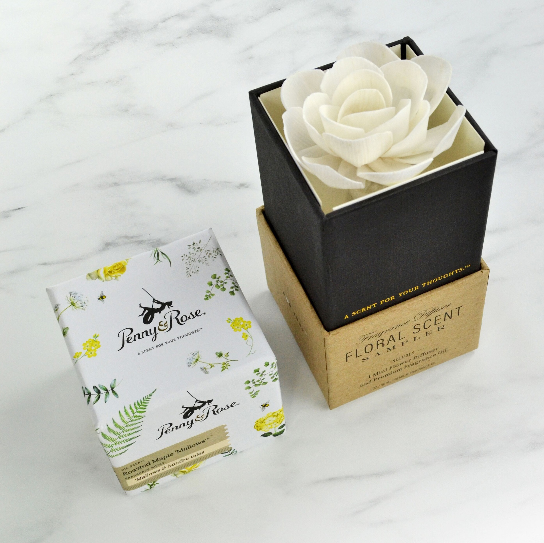 Penny & Rose branding and packaging