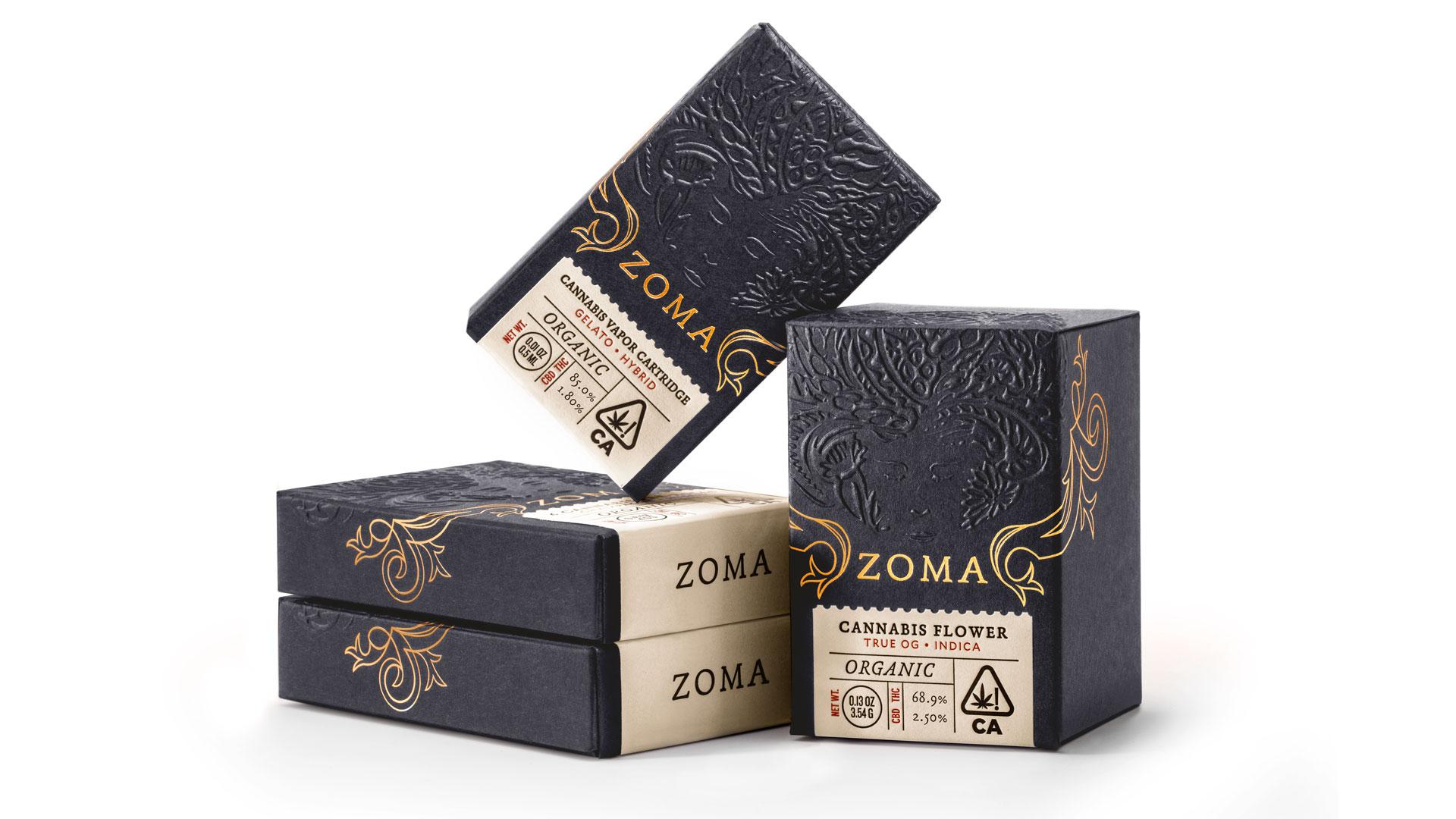 Zoma Cannabis Packaging