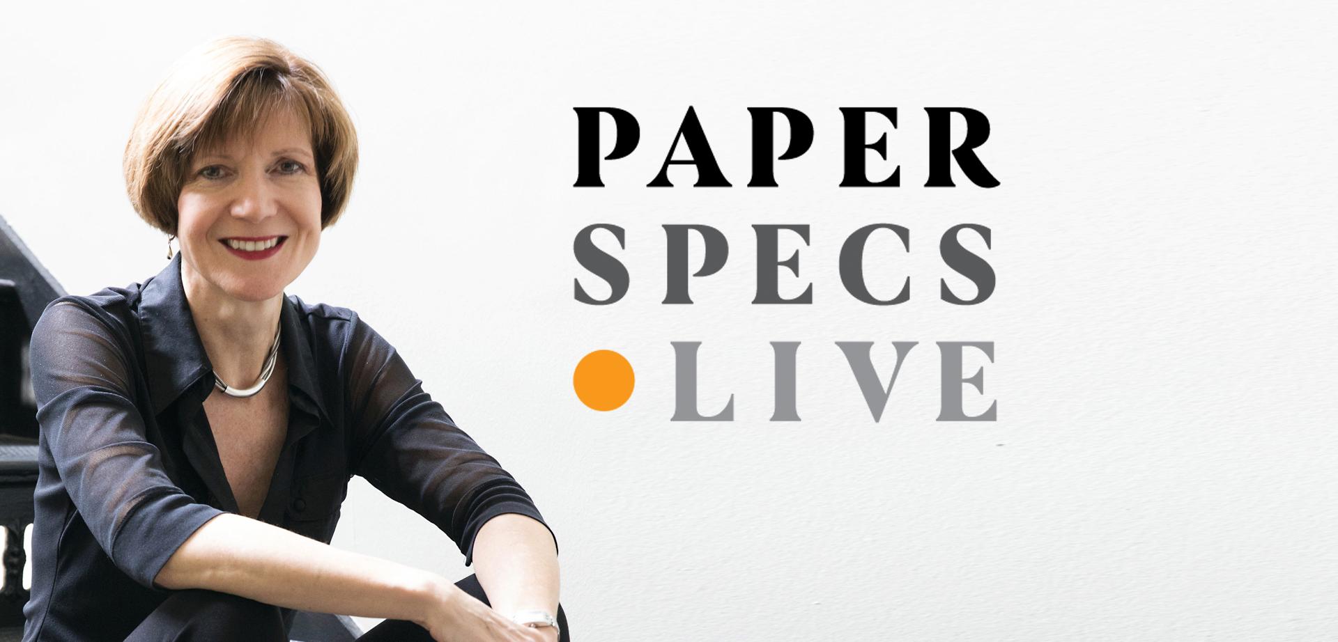 PaperSpecs Live Header