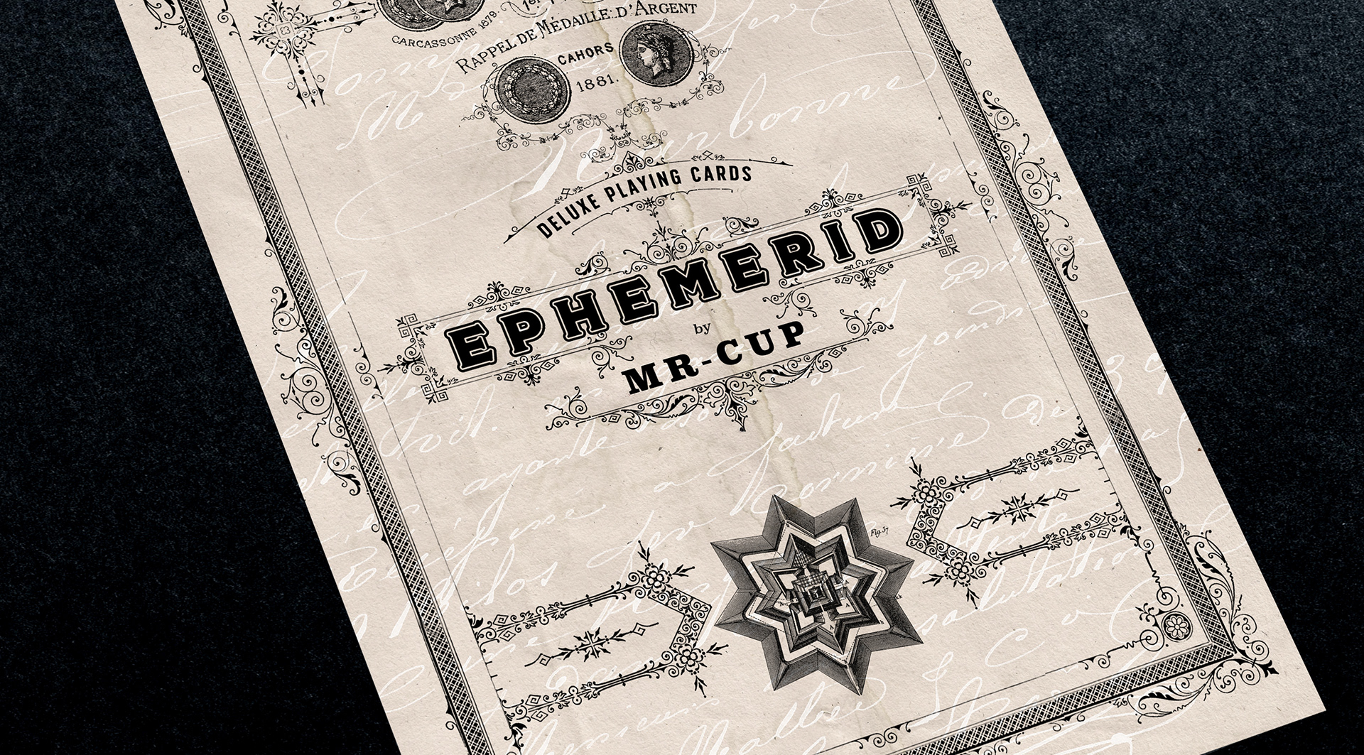 Ephemerid Playing Cards (Series 1) - PaperSpecs