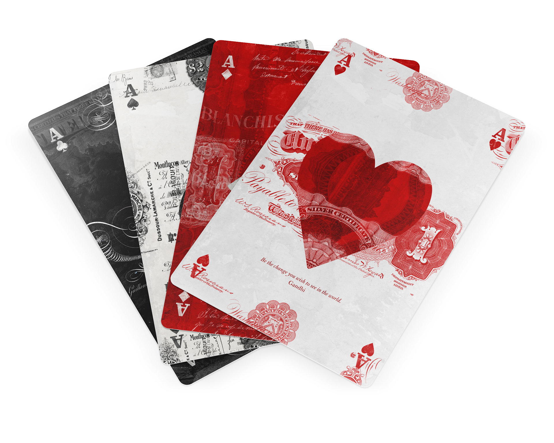 Ephemerid Cool Playing Cards