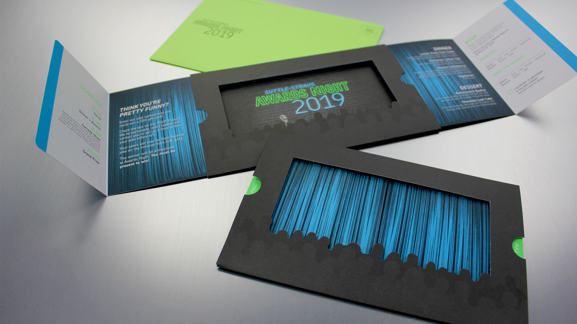 A Pull-Out Creative Invitation - PaperSpecs