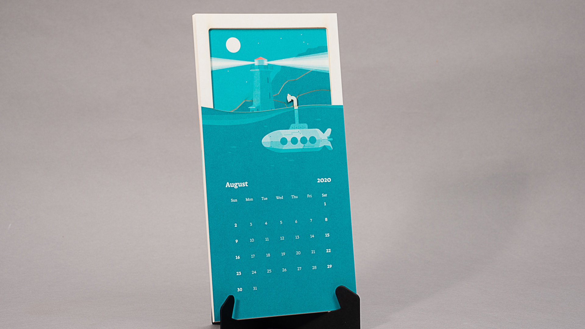 Interactive 'Once Upon a Time There Was a Sailor' Calendar
