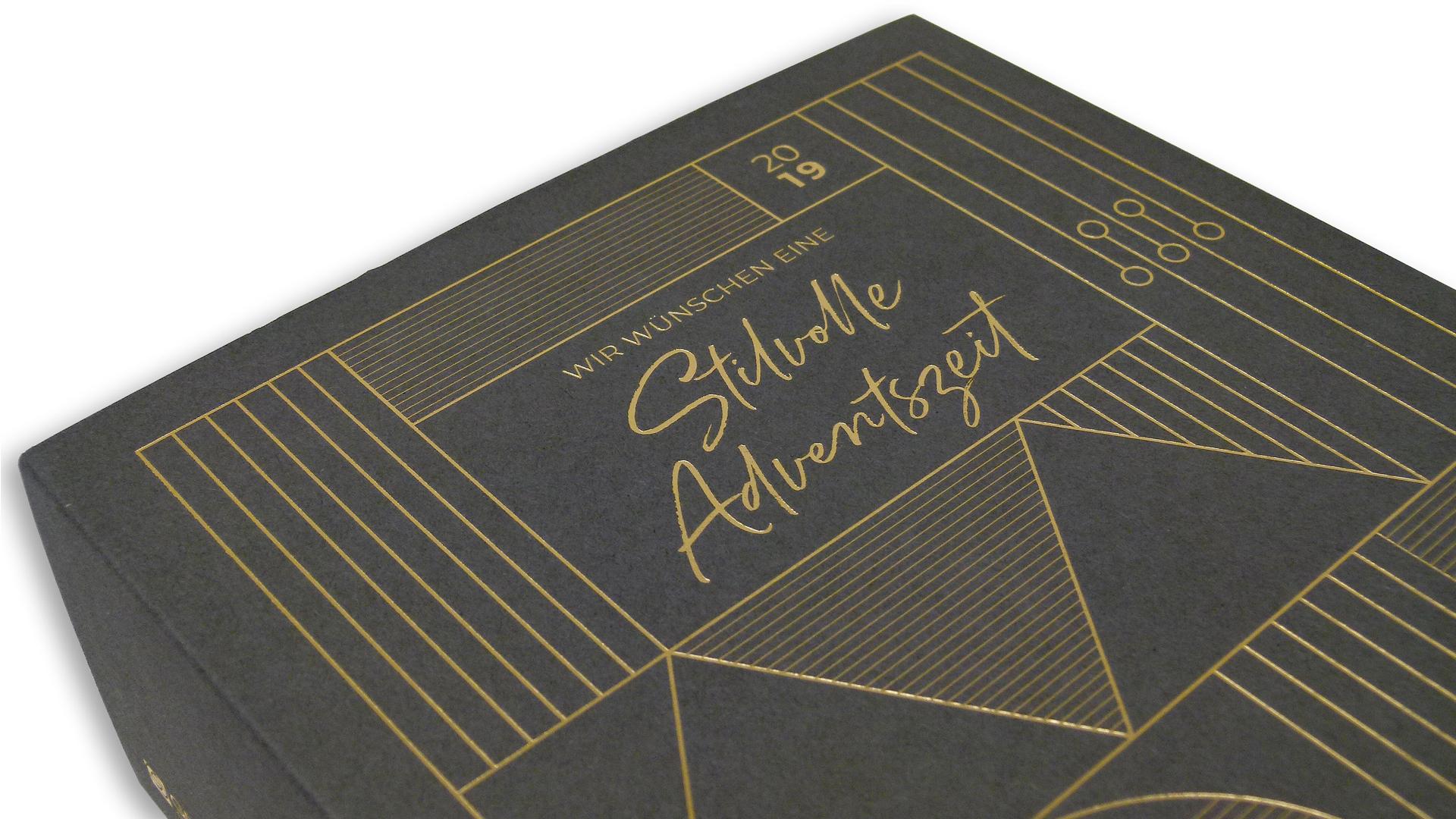 Shimmering Bauhaus Advent Calendar - PaperSpecs