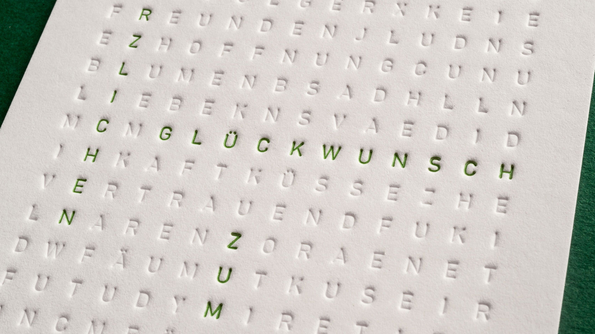 Interactive Scrabble Birthday Card - PaperSpecs
