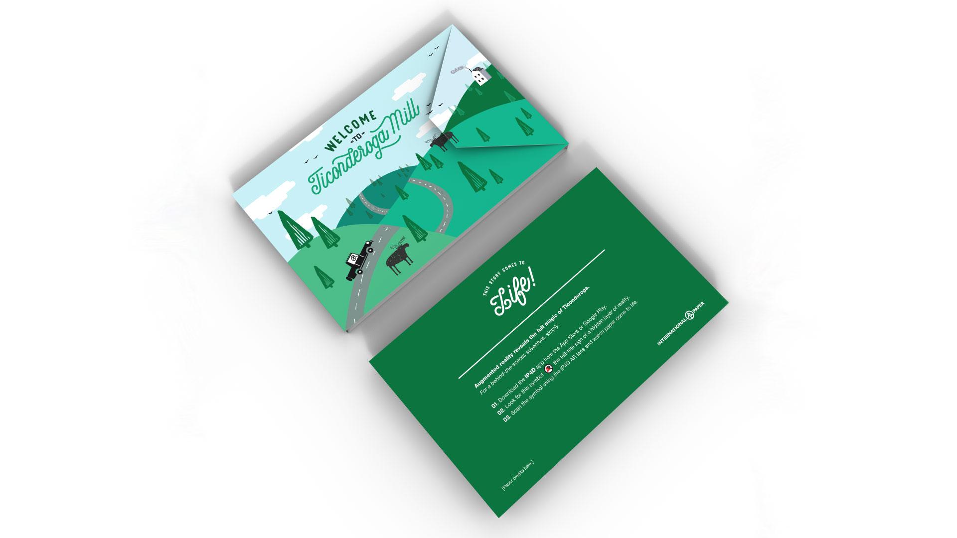 International Paper Ticonderoga Mailer - PaperSpecs