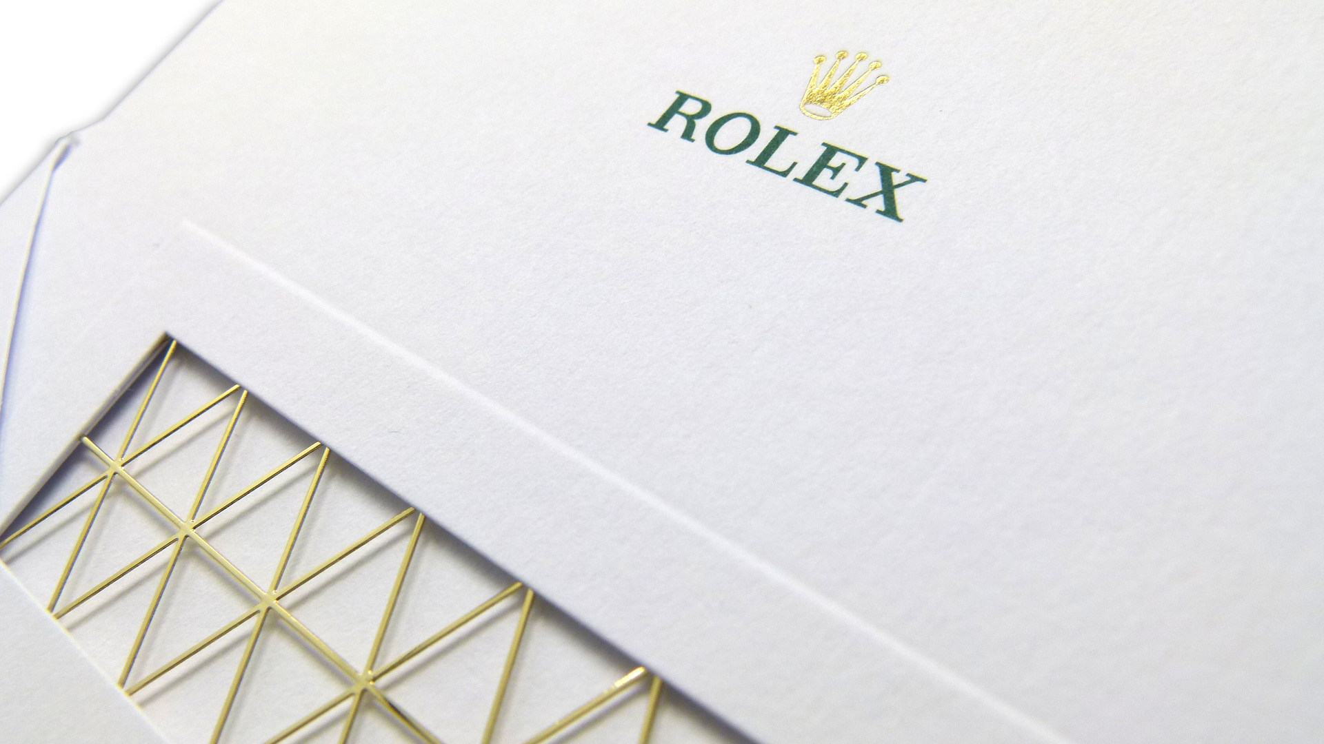 Oscar-Worthy Rolex Academy Awards Invitation - PaperSpecs