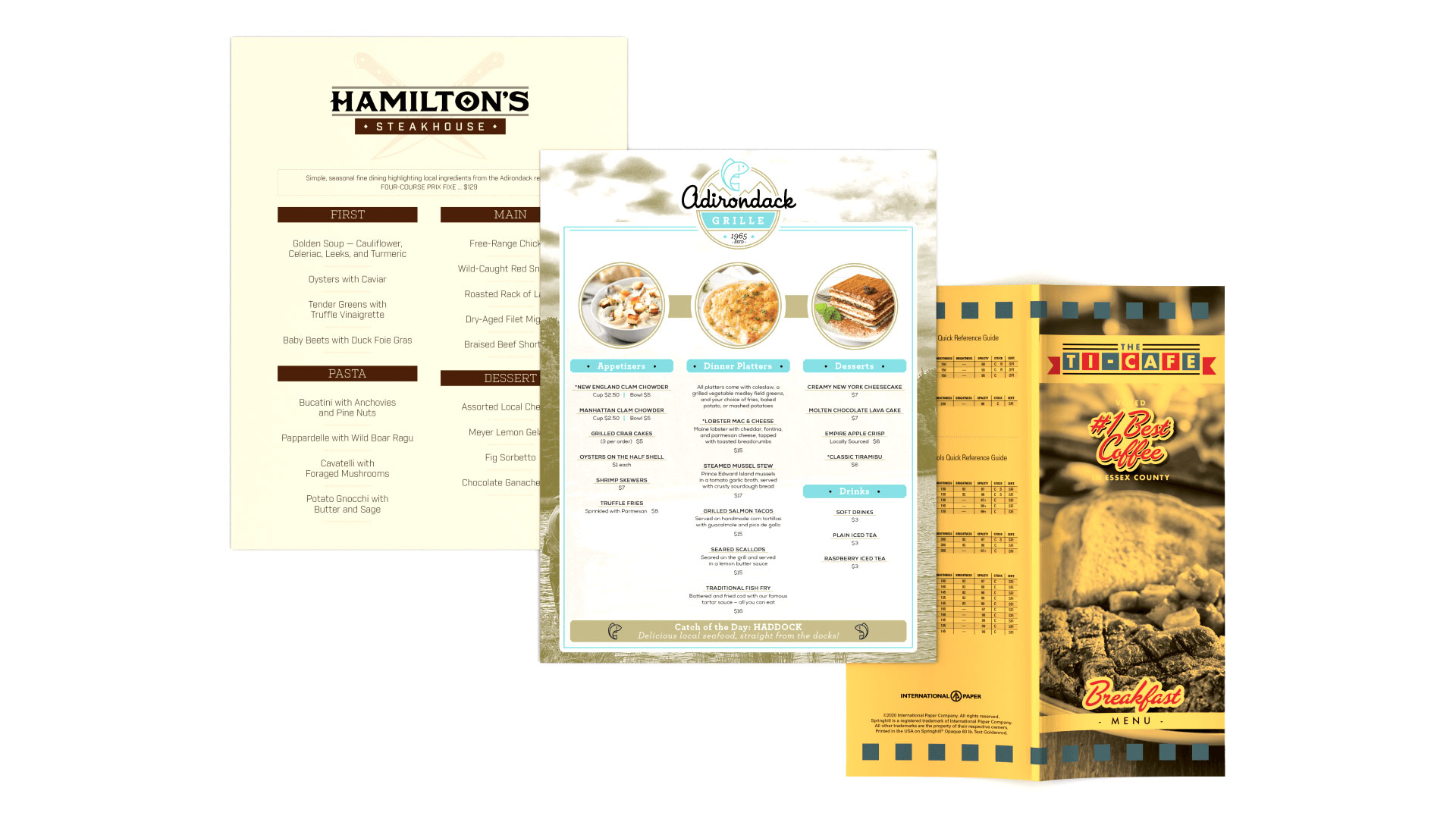 International Paper's Paper Menu Playbook - PaperSpecs
