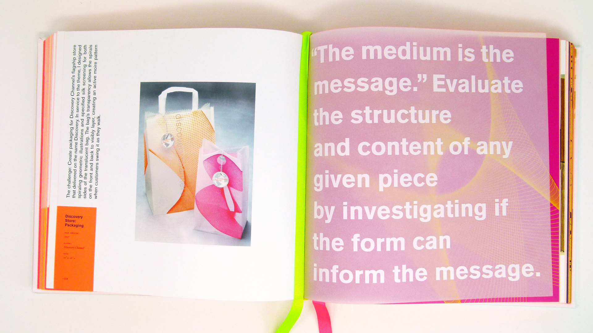 Gripping Book Design - 'Morla : Design' Book - PaperSpecs