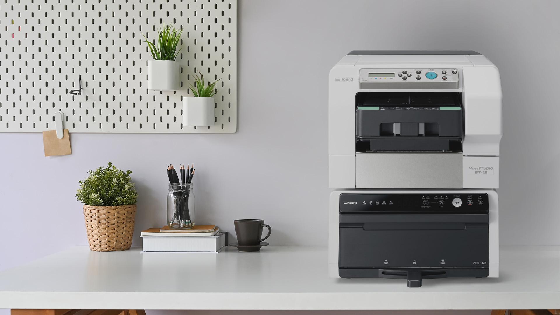 Roland DG VersaStudio BT-12 direct-to-garment printer - PaperSpecs