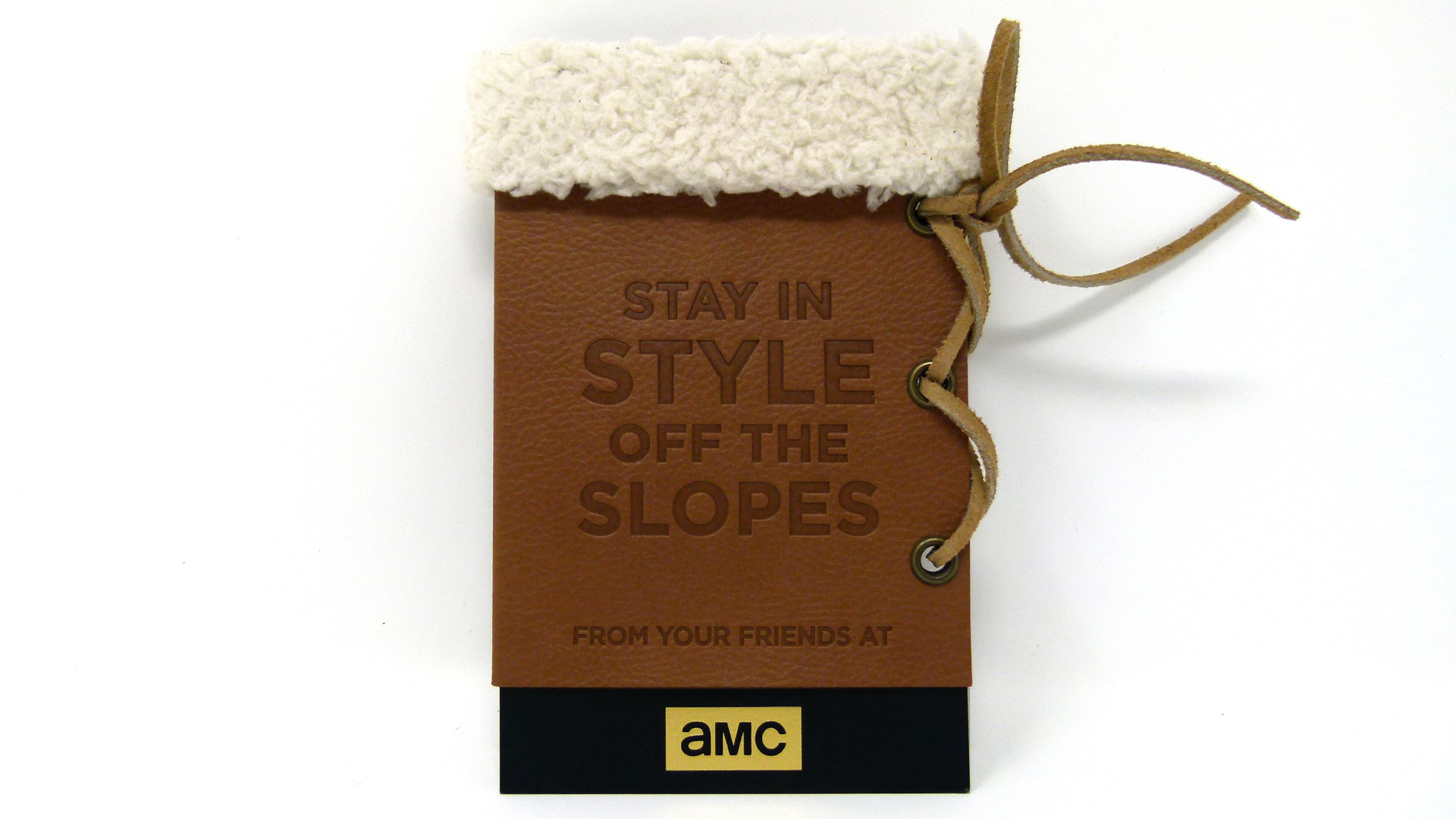Sorel Boots-Themed AMC High-End Gift Card Holder Idea - PaperSpecs