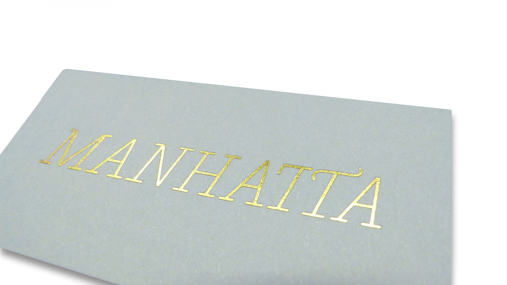 Creative Menu Design: Manhatta Restaurant - PaperSpecs