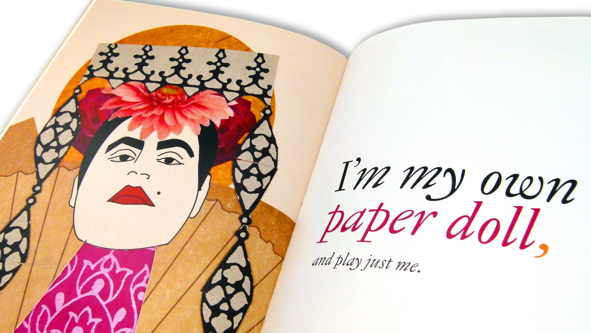 'Paper Dolls' Art Book - PaperSpecs