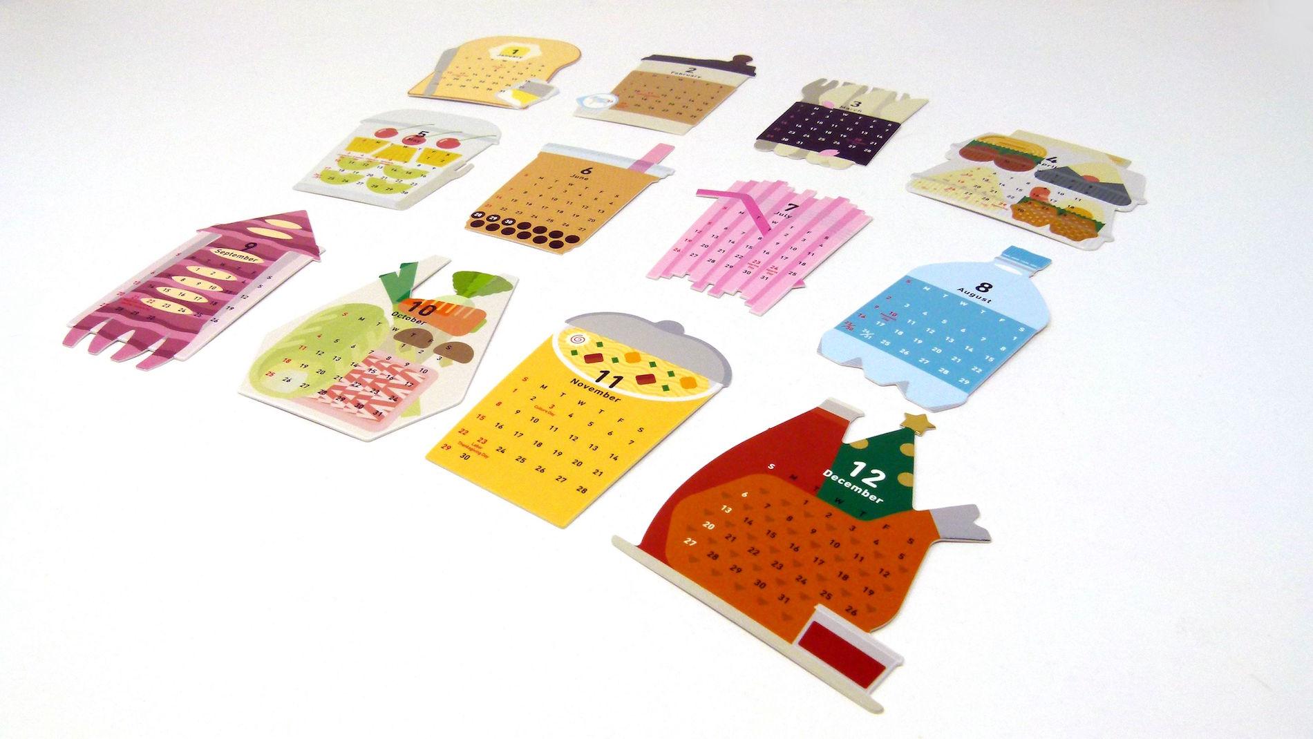 Ichikudo Zero Waste Calendar 2020 - PaperSpecs