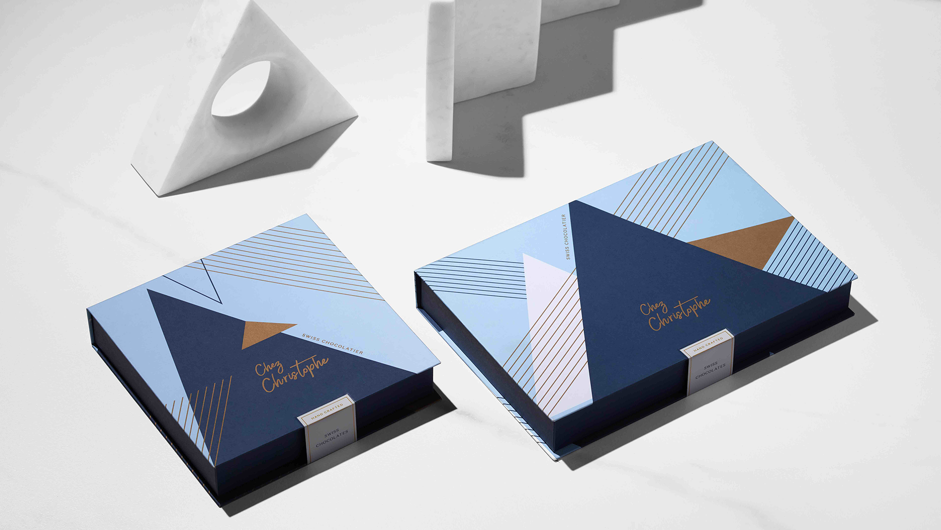 Chez Christophe Chocolates packaging - PaperSpecs