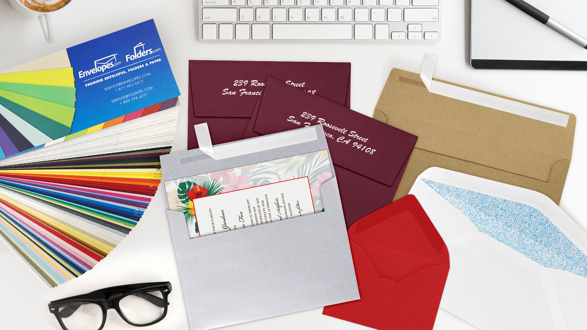 Oh-So-Handy Envelopes.com Swatchbook - PaperSpecs