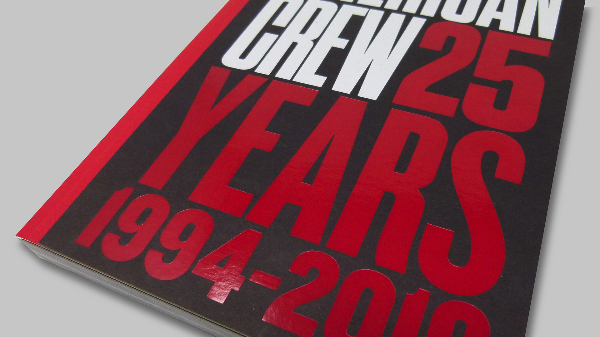 Coffee Table Book Design: 'American Crew 25 Years' - PaperSpecs