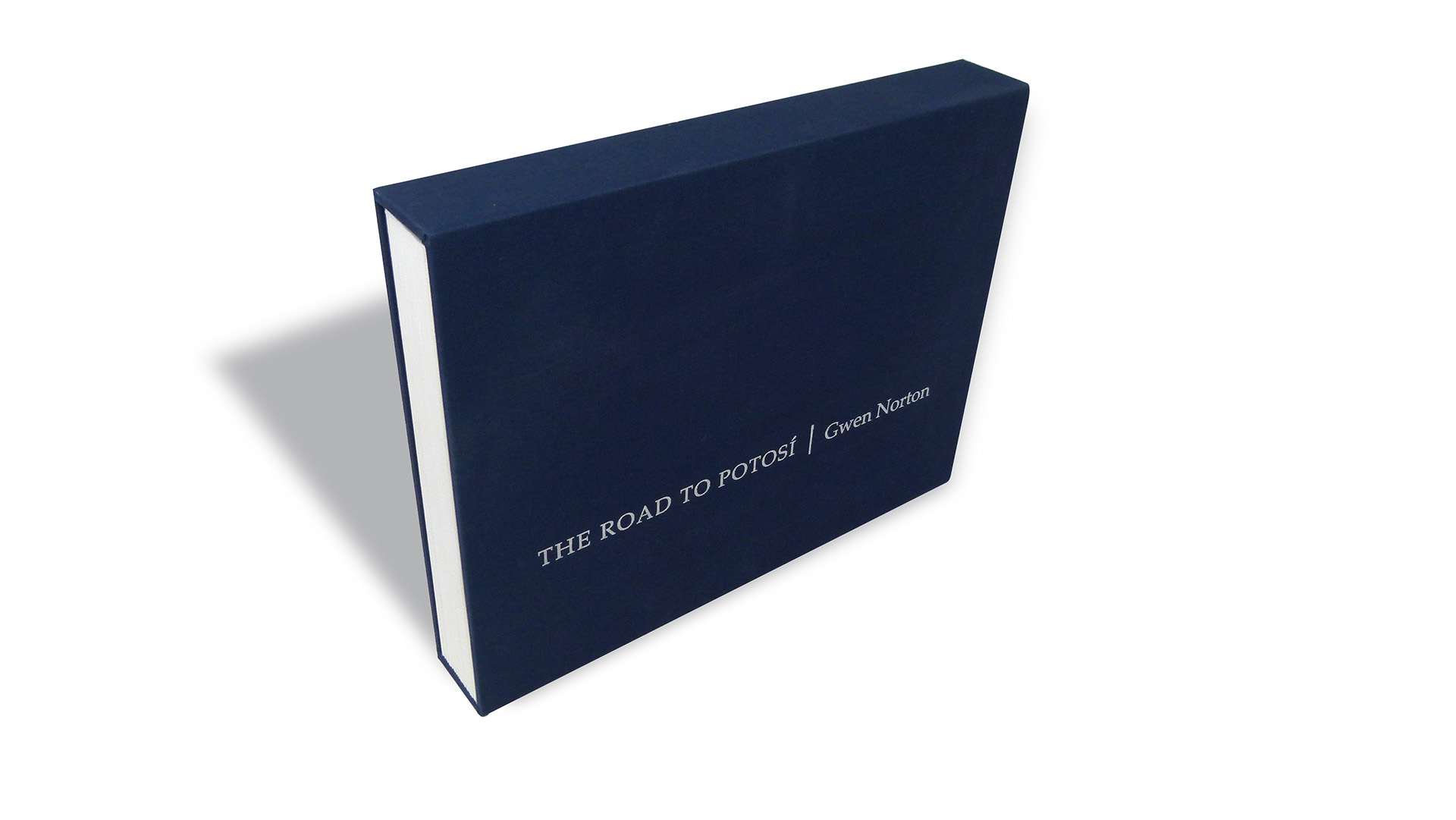 Creative Book Design: 'The Road to Potosí' - PaperSpecs